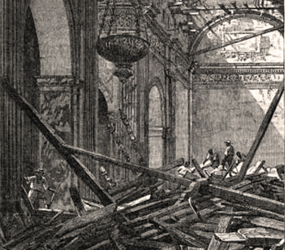 On June 3, 1863, a strong earthquake rocked Manila