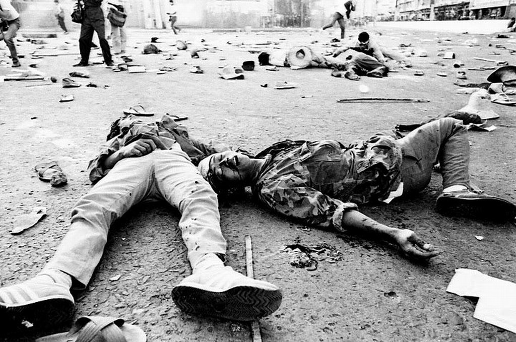 13 peasants killed at Mendiola on January 22, 1987 under Corazon Aquino