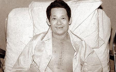 Ninoy Aquino in Baylor hospital