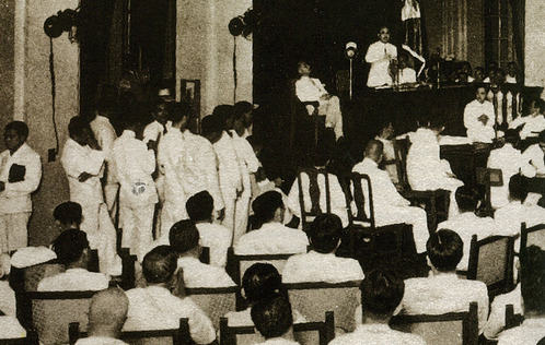 Filipinos on July 10, 1934 elected delegates to constitutional convention