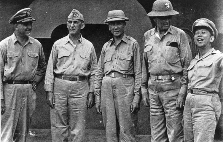 MacArthur landed in Leyte to reclaim the Philippines October 20, 1944