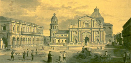 A September adventure of the Mason,  Pedro Gil,  in the old city of Manila some 270 years ago