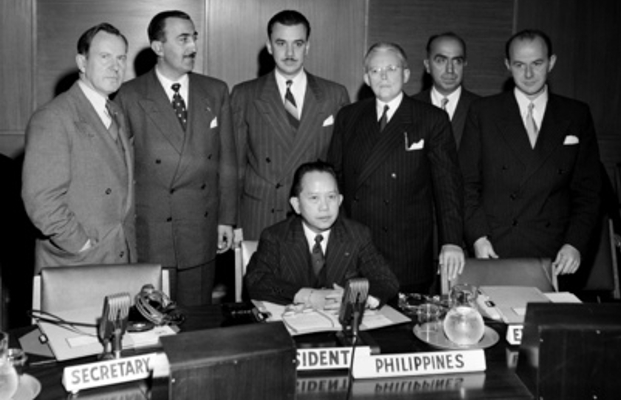 September 21, 1949, Carlos P. Romulo was elected UN Assembly President