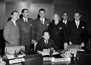 Chairman of the six standing committees of the UN Assembly