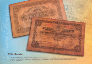 The first paper money circulated in the Philippines,                            Pesos Fuertes, were issued in 1852 by El Banco Espanol Filipino de Isabel II, the first bank established in the country