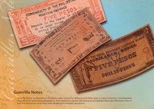 Guerrilla Notes or Resistance currencies were issued by                            different provinces and, in some instances, municipalities through their local currency boards to show resistance against the Japanese occupation