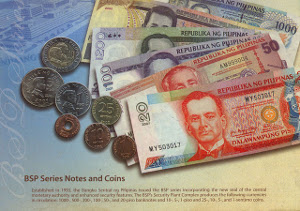 Established in 1993, the Banko Sentral ng Pilipinas issued the                           BSP series incorporating the new seal of the central monetary authority and and enhanced security features