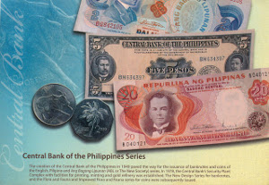 The creation of the Central Bank of the Philippines in 1949                            paved the way for the issuance of banknotes and coins of the English, Pilipino, and Ang Bagong Lipunan (ABL or the New Society) series