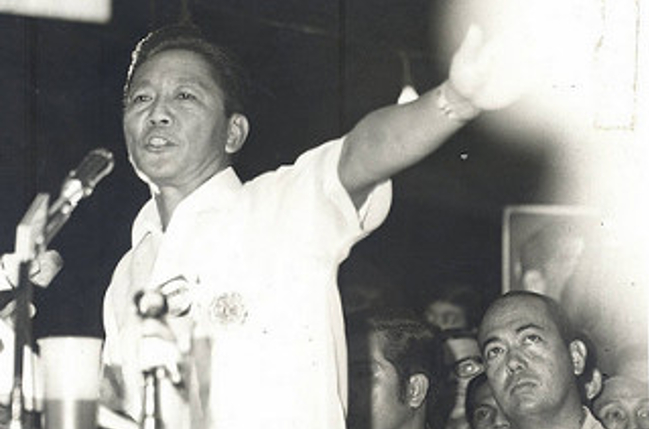 Senator Marcos was elected president of the Liberal Party January 21, 1961