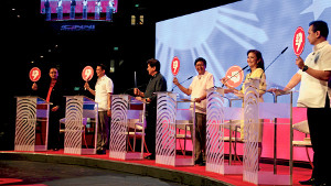 Senator Bongbong Marcos was the crowd favorite at the Vice Presidential Debates