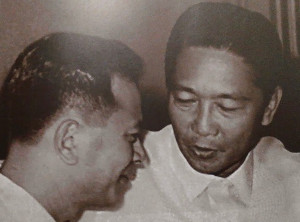 """November 18, 1928, Salvador """"Doy"""" Laurel was born in Paco, Manila"""