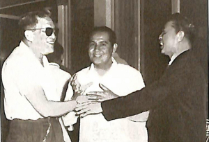 Legendary Manila Mayor Arsenio H. Lacson died of a heart attack on April 15, 1962