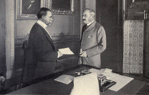 Handling of $20M for the Treaty of Paris